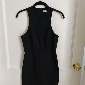 T by Alexander Wang Fitted Black Dress Sz 8